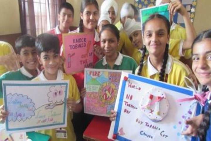 GB International School-poster Presentation