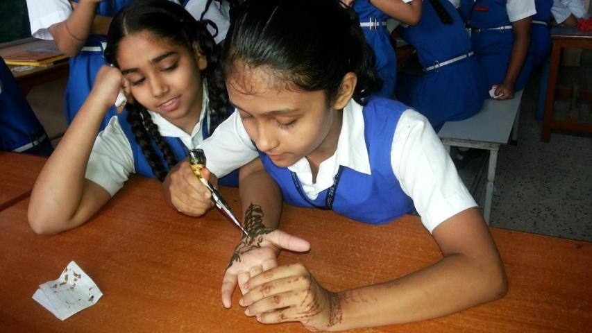 Gem Public School-Mehandi Event