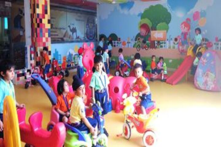 Gems Cambridge International School-Toodlers Play Area