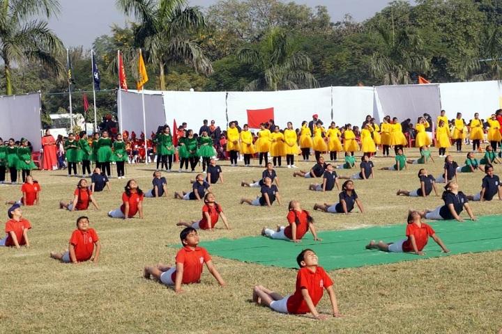 Gen Gurnam Singh Public School-Yoga