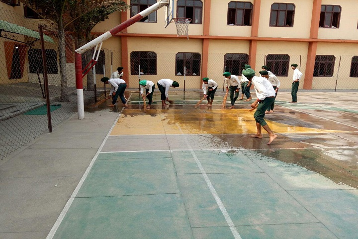 Genius International Public School-Basketball Ground