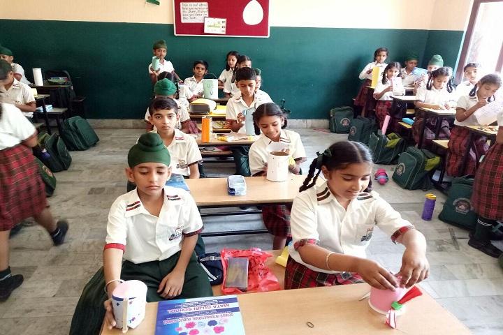 Genius International Public School-Classrooms