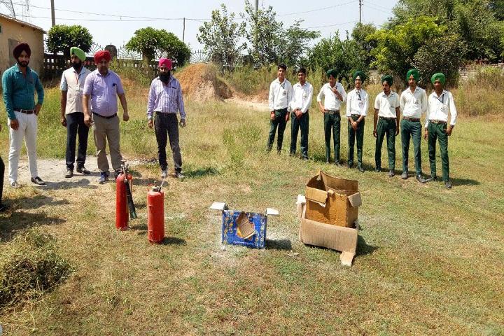 Genius International Public School-Fire safety