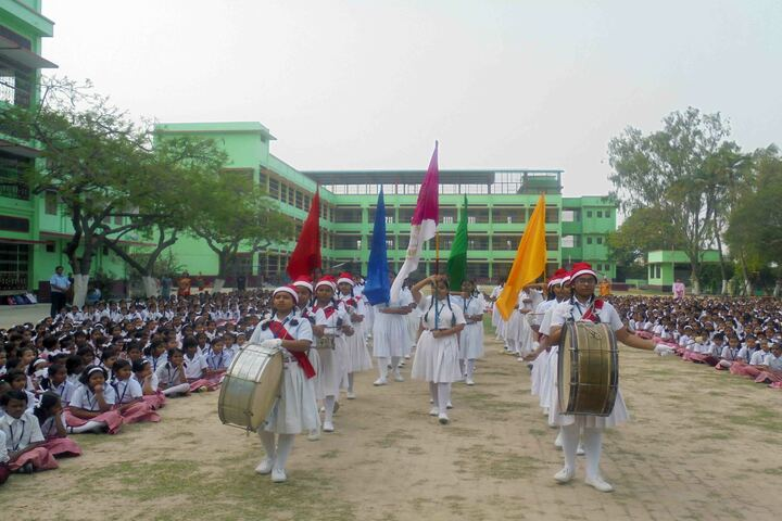 Holy Cross School-Activity
