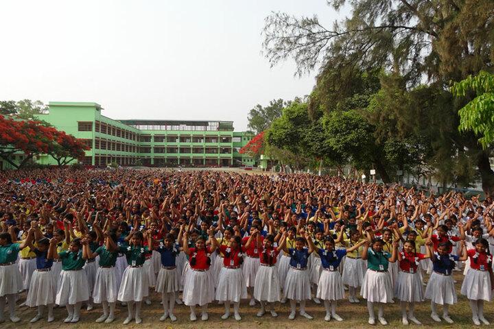Holy Cross School-Assembly