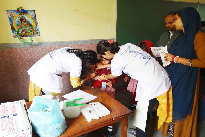 Holy Cross School-Medical Camp
