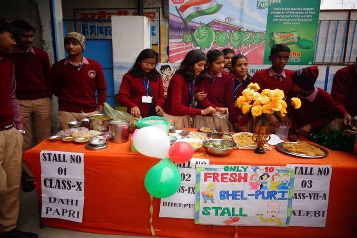 Holy Faith International Public School-Food Stalls