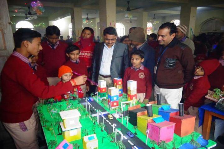 Holy Faith International Public School-Science Exhibition