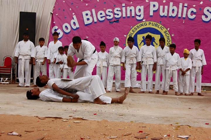 God Blessing Public School-Karate Event