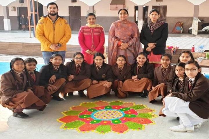 Godwin Public School-Rangoli Event