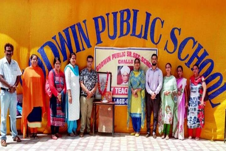 Godwin Public School-Teachers Day Event