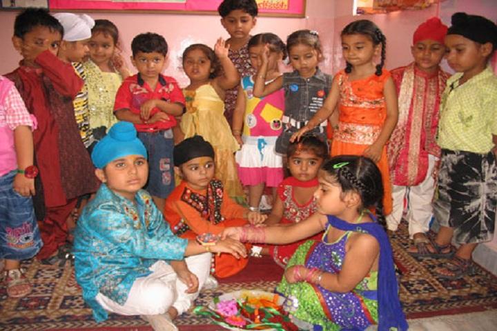 Golden Bells Public School-Raakhi Celebrations