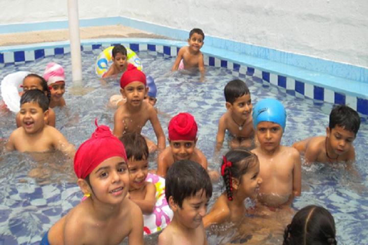 Golden Bells Public School-Water Activity
