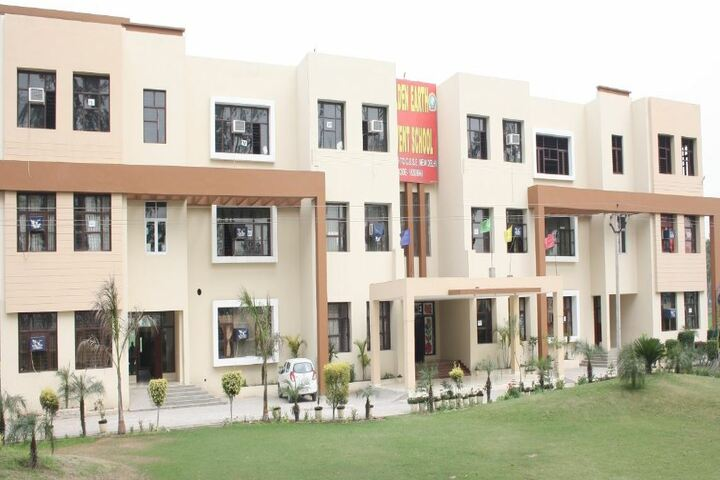 Golden Earth Convent School-Campus View