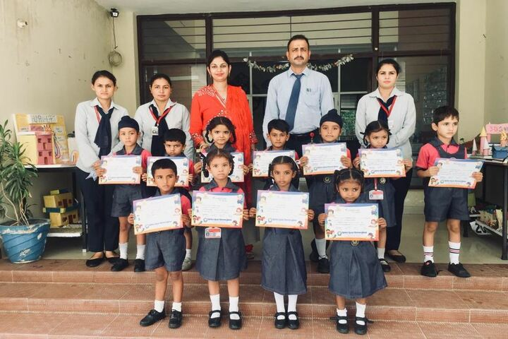 Golden Earth Convent School-Certification