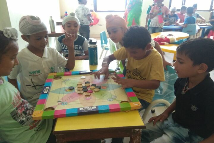 Golden Earth Convent School-Indoor Games