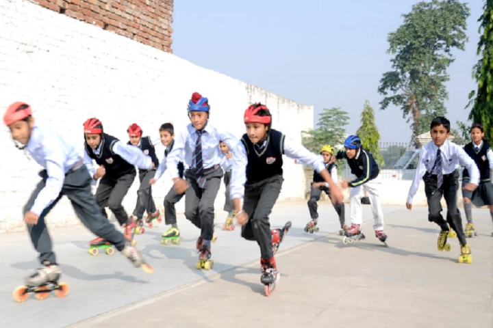 Golden Earth Global School-Skating