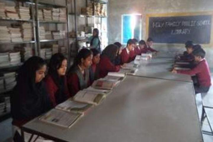 Holy Family Public School-Library