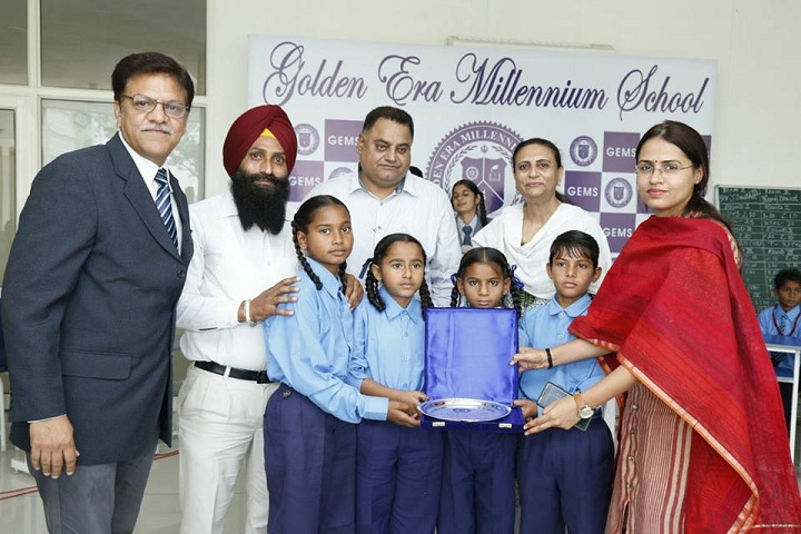 Golden Era Millennium School-Award Receiving