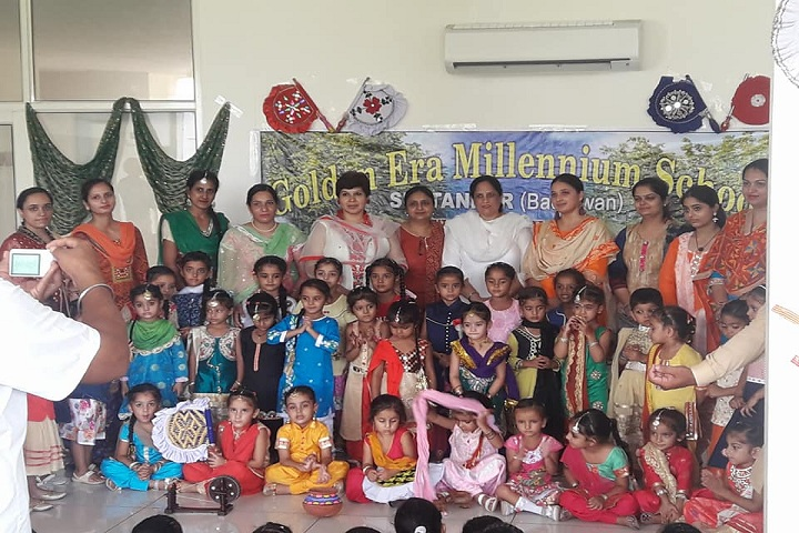 Golden Era Millennium School-Teachers and Students