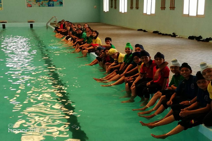 Golden Era Millennium School-water Activity
