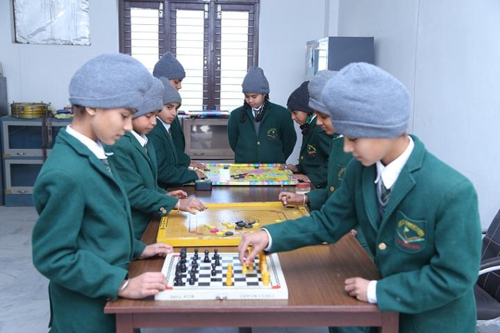 Goodearth Convent School-Indoor Games