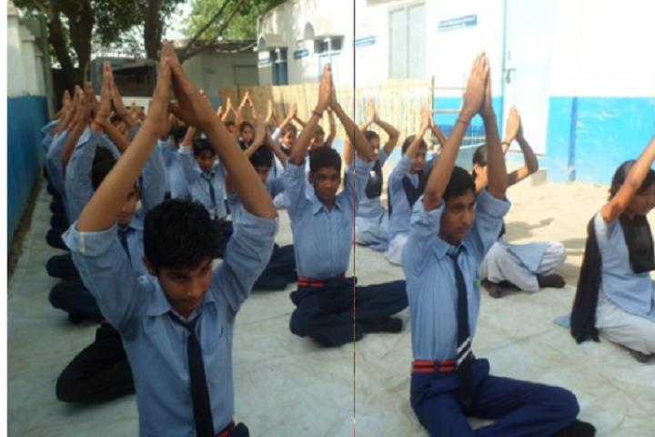 Holy Kids International School-Yoga