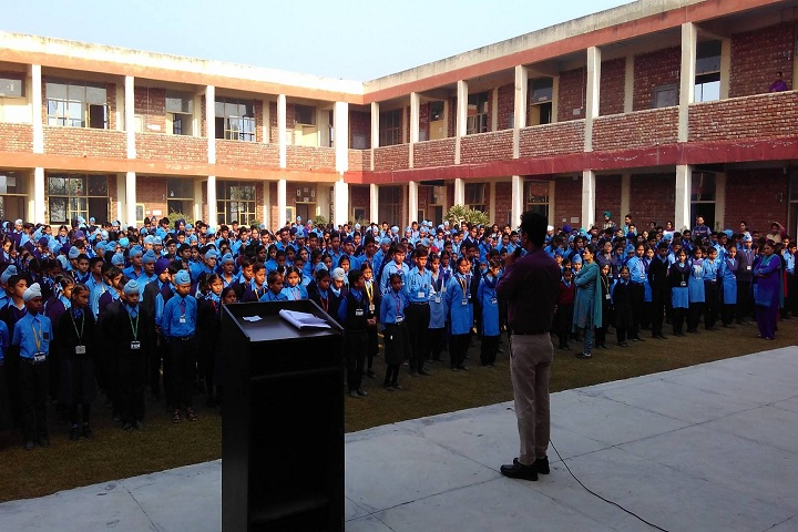 Government FCS Adarsh Senior Secondary School-Assembly