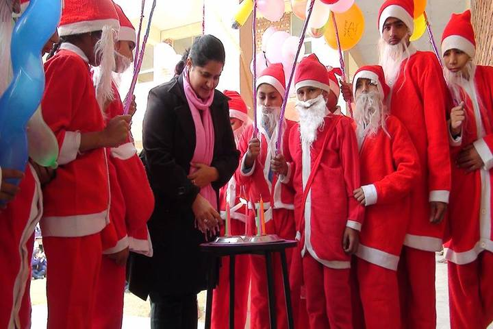 Government FCS Adarsh Senior Secondary School-Christmas Celebration