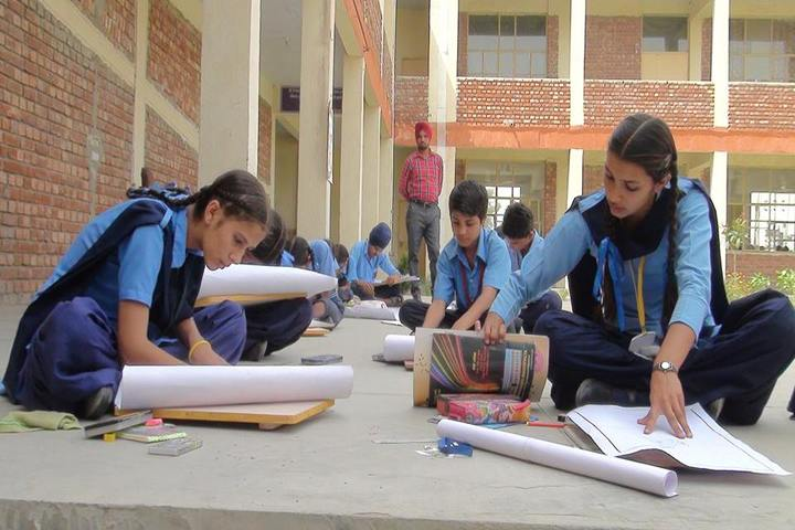 Government FCS Adarsh Senior Secondary School-Drawing Competition