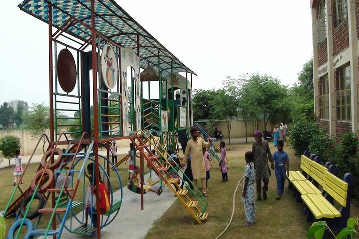 Government FCS Adarsh Senior Secondary School-Kids Play Area