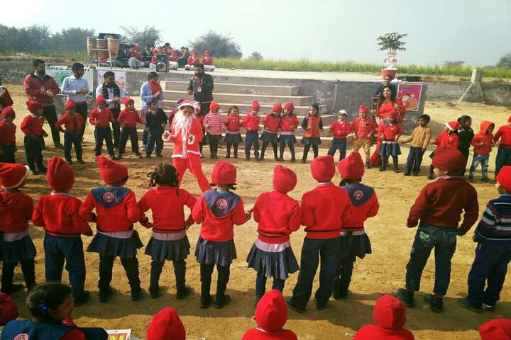 Government G G S Adarsh Secondary School-Christmas Celebration