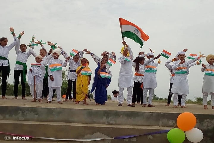Government G G S Adarsh Secondary School-Independence Day Celebration