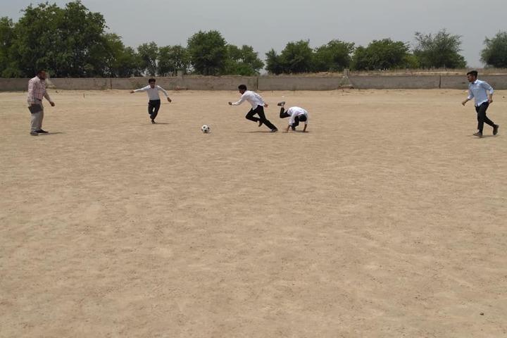 Government G G S Adarsh Secondary School-Play Ground