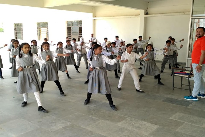 Government G G S Adarsh Secondary School-Self Defence Training