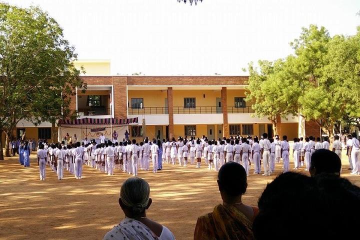 Amararaja Vidyalayam-Morning Assembly