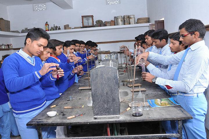 Holy Mission High School-Chemistry Lab