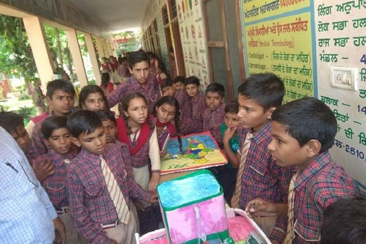 Government Model School-Science Exhibition