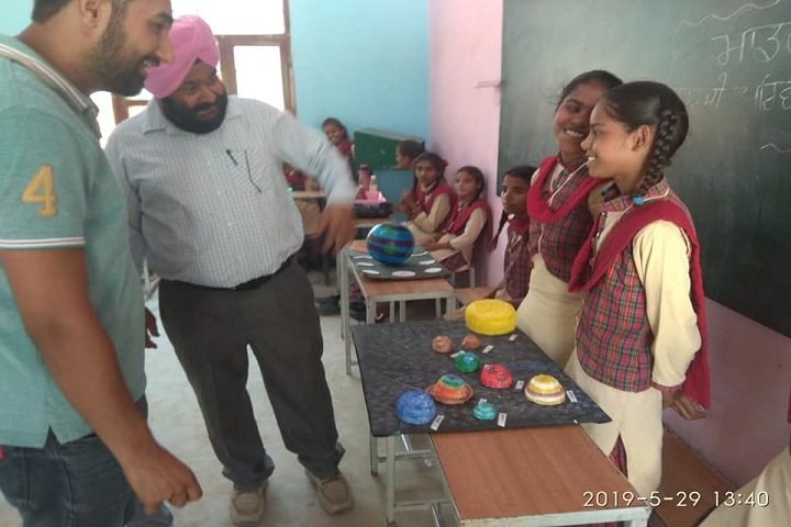 Government Model Senior Secondary School-Science Project