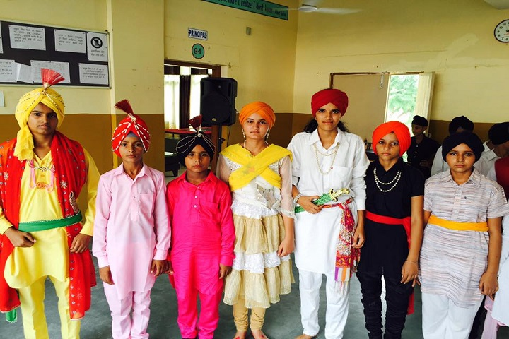 Government Model Senior Secondary School-Fancy Dress Competition