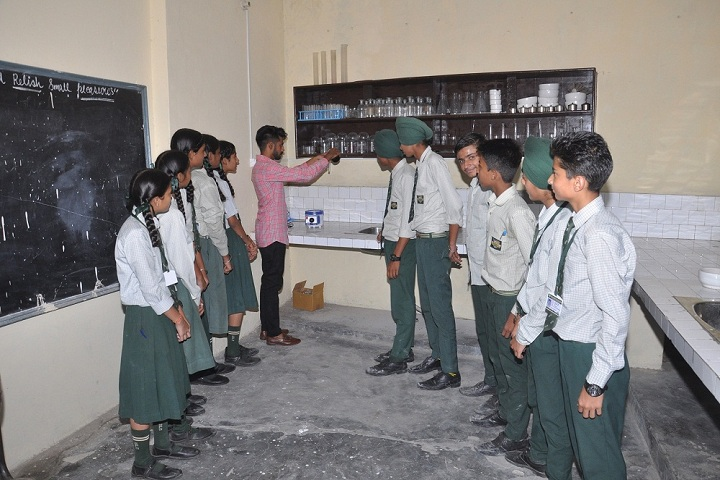 Grace Public School-Chemistry lab