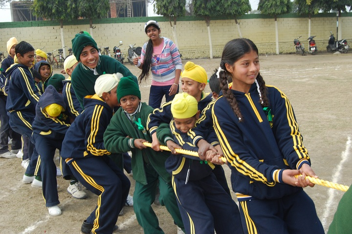 Grace Public School-Games