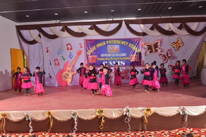 Great India Presidency School-Dance