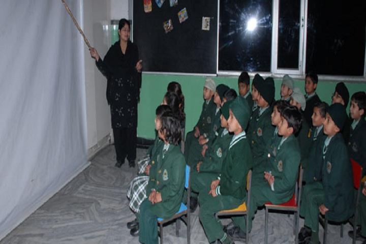 Green Land Senior Secondary Public School-Classroom