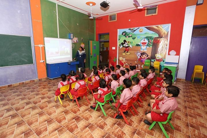 Green Valley Convent School-Primary Classroom