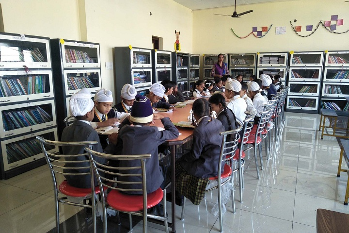 Green Valley Convent School-Library