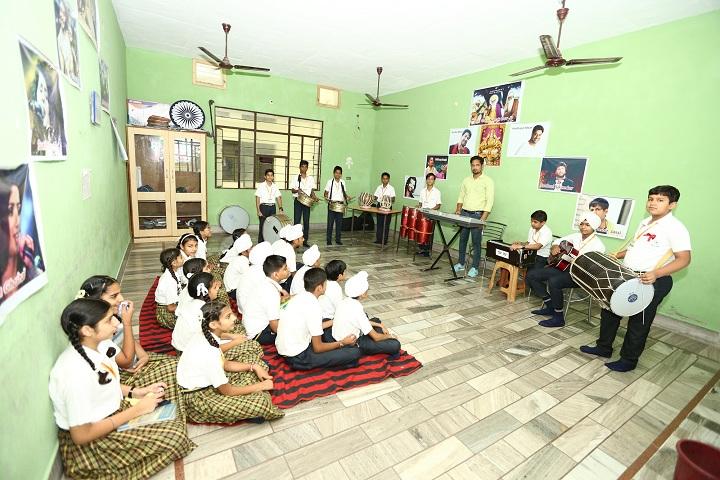 Green Valley Convent School-Music Room