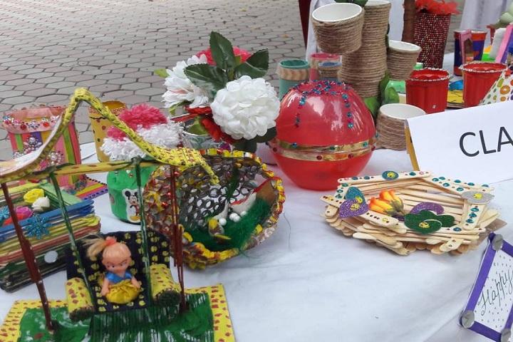 Gujrawala Guru Nanak Public School-Arts Exhibition