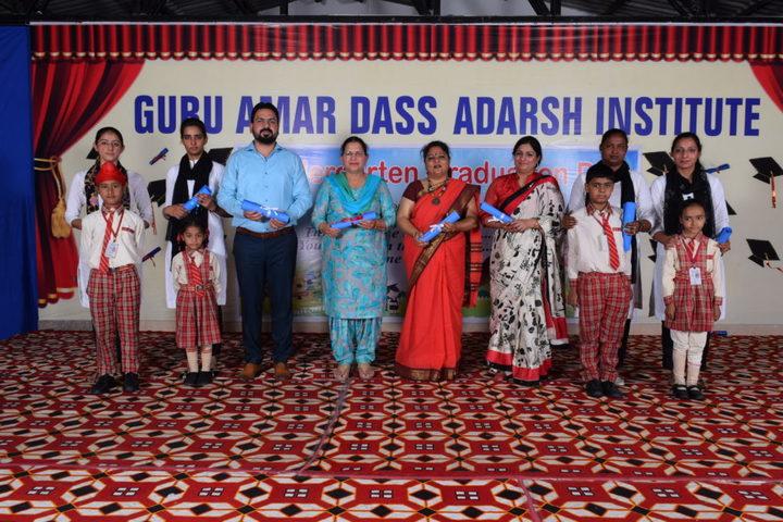 Guru Amar Dass Adarsh Institute-Graduation Day