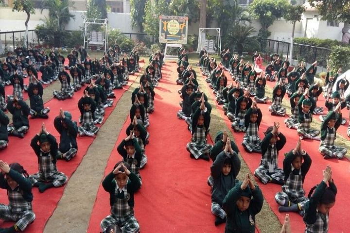 Guru Amar Dass Public School-Yoda Day Event